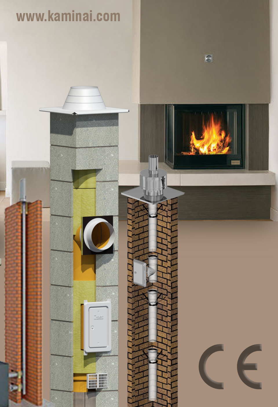 All kinds of chimneys for Your Home